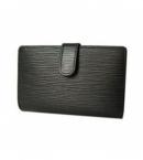 財布 コピー ルイヴィトン財布エピがま口 ポルトフォイユヴィエノワ ノワール M63642
