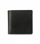 財布 コピー ルイヴィトン二つ折り小銭入付き財布ポルトフォイユマルコノワールM63652