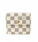 ヴィトンコピー財布代引きおすすめ 口コミ ダミエ財布アズール Wホック-ポルトフォイユエリーズ N61733