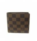 (LOUIS VUITTON)ヴィトン 財布 人気 ブランドコピー激安 ダミエ財布メンズ二折り小銭付きポルトフォイユマルコN61675