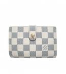 (LOUIS VUITTON)ヴィトン 財布 新作 ブランドコピー激安 ダミエ財布アズール-がま口財布 N61676