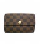 (LOUIS VUITTON)ルイビトン 財布 偽物 ブランド激安 ダミエ財布 ポルトフォイユアレクサンドラ N63067