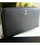 chanelスーパーコピー代引き ラウンド財布 黒キャビアA46419 中国国内発送安全
