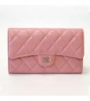 chanelスーパーコピー財布 商品口コミマトラッセ3つ折り ピンク A31506