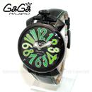 ガガミラノ スーパーコピー腕時計代引き対応安全 ブラウン レザー/グレーシェル/ピンクゴールド 5021.03