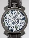 ガガミラノ コピー腕時計 専門店安全なところ マニュアル48mm 手巻き 5012 MOSAICO 1 グレー皮 カーキモザイク