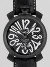 ガガミラノ スーパーコピー代引き通販口コミ マニュアル48mm 手巻き 500本限定 5016.6 ブラック皮 ブラックカーボン