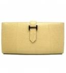 エルメス 財布 コピー代引き激安販売ベアンスフレ二つ折長財布リザード/ブランカッセ HER-048
