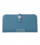 財布 コピー エルメスドゴンロング ブルージン トゴ  HER-015