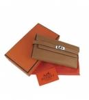 財布 コピー エルメス ケリーウォレット ライトコーヒー HR12025 安全サイト