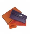 エルメス 財布 コピー 安全代引き日本  ケリーウォレット ムラサキ HR12026