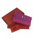 エルメス 財布 コピー代引き商品販売ブランドケリーウォレット ムラサキ HR12038