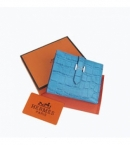 財布 コピー エルメス ブランド 二つ折り短財布 ベアン HR12670