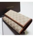 グッチレプリカ長財布代引き対応安全長財布 GGキャンバス  257303 FAFXG 9684 通販人気