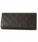 スーパーコピーgucci財布 代引き対応シマ 長財布 ダークブラウン 146229A0V1R2019