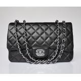 シャネル羊革 ECS009207 ブラックスーパーコピー chanel代引き通販サイト女性 ショルダーバッグ