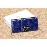 ディオール  財布  さいふ  パテントレザー二つ折り長財布 S0060PVRK M323