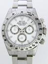 ロレックススーパーコピー デイトナ 116520 ニュークラスプモデル ホワイト