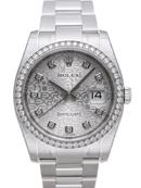 ロレックス ROLEX デイトジャスト ダイアモンドベゼル 116244n