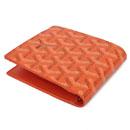 ゴヤール偽物財布代引き 二つ折り財布 オレンジ GOYARD-122 通販大丈夫