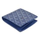 ゴヤール スーパーコピー財布 安全なサイト二つ折り財布 ブルー GOYARD-117