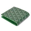 ゴヤールコピー代引きブランド 二つ折り財布 名刺入れ グリーン GOYARD-114