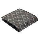 ゴヤールコピー代引き可能 二つ折り財布 名刺入れ ブラック GOYARD-112