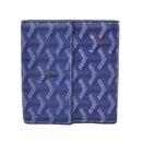 ゴヤール スーパーコピー財布 通販届く二つ折り財布 Wホック ブルー GOYARD-107
