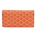 ゴヤール 二つ折り長財布 オレンジ GOYARD-082