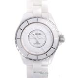 シャネルJ12 腕時計コピー代引き対応安全 38 ホワイトファントム世界2000本限定H3443
