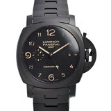 パネライ コピーブランド時計代引き対応安全 ルミノール1950 3デイズ GMTトゥットネロPAM00438
