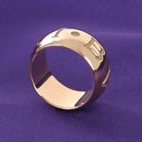ブルガリ スーパーコピーアクセサリー代引き口コミモノロゴ リング(指輪) ピンクゴールド AN854567