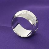 ブルガリ コピーアクセサリー代引き対応安全モノロゴ リング(指輪) ホワイトゴールド AN854491