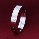 カルティエ Cartier ビスモチーフ ミニラブ リング【指輪】 ホワイトゴールド B4085100