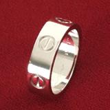 カルティエ  レプリカ 代引き 中国国内発送 ラブ リング(指輪) プラチナ 950pt B4041800