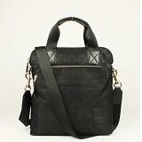 GUCCIグッチ 298606 Gucci布革 ブラック 男性 ハンドバッグ メッセンジャーバッグ