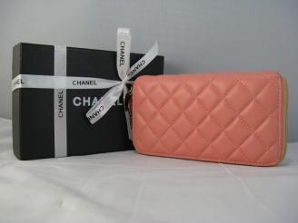 赤い シャネル羊革 女性 中財布 46579 CHANELシャネル レプリカ財布代引き