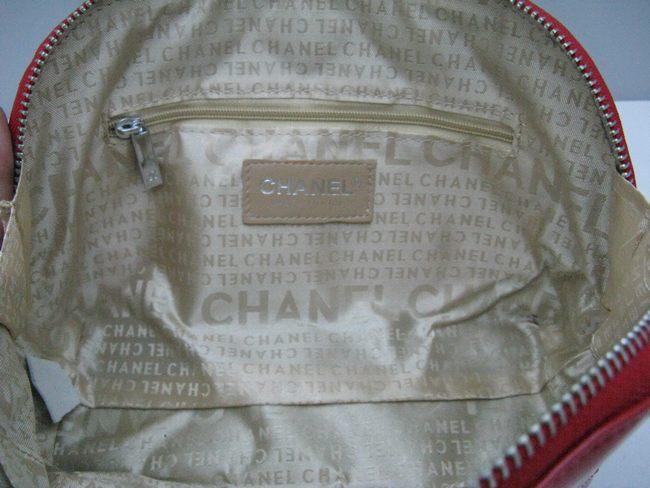 赤い 48700 シャネルエナメル 女性 クラッチバッグ 女性財布 CHANELシャネル