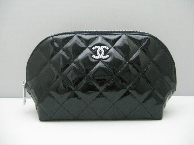 <b> 女性 クラッチバッグ 女性財布 48700 シャネル羊革 CHANELシャネル ブラック</b>