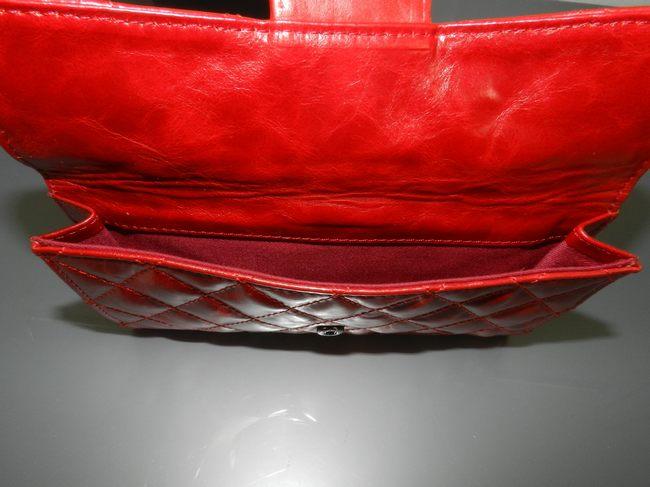 <b> 50140 女性 長財布 赤い シャネル羊革 CHANELシャネル</b>
