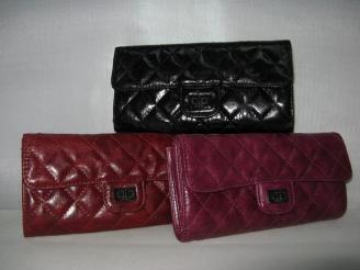 chanel コピー財布 50140 女性 長財布 赤い シャネル羊革通販サイト