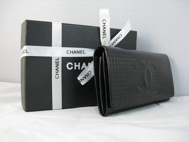 91764 ブラック シャネルエナメル CHANELシャネル 女性 クラッチ財布