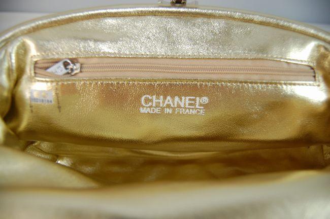 CHANELシャネル シャネル羊革 女性 クラッチ財布 宴会財布 黄色 351178