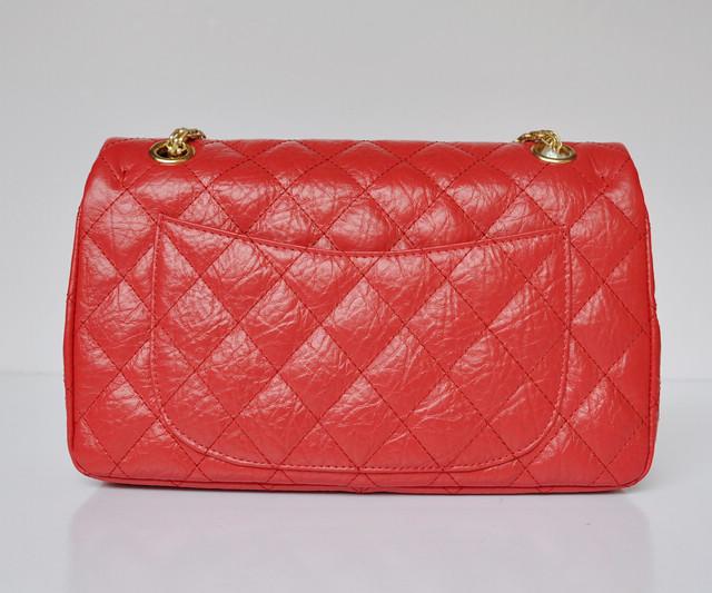 CHANELシャネル 女性 ショルダーバッグ ECS009236 赤い シャネル牛革