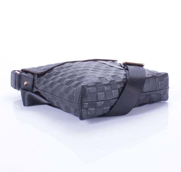 ルイ·ヴィトン Louis Vuitton ヴィトンフルレザー生地 メンズ ハンドバッグ メッセンジャーバッグ ブラック 5804