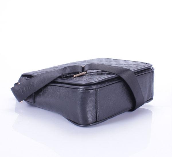 ヴィトンフルレザー生地 メンズ ハンドバッグ メッセンジャーバッグ ブラック ルイ·ヴィトン Louis Vuitton N91585