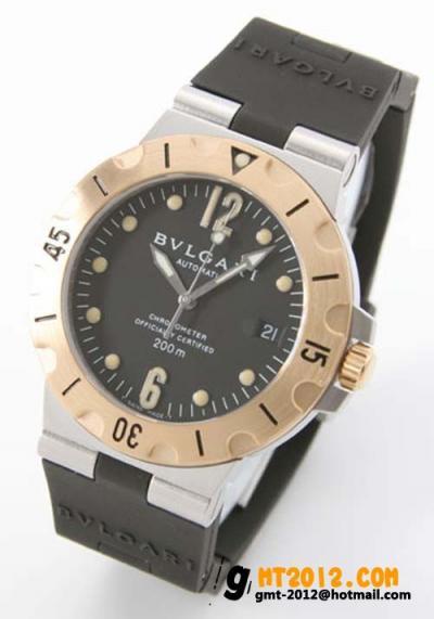 ブルガリ 時計 コピー ディアゴノ スクーバ メンズSD38SGVD 通販大丈夫