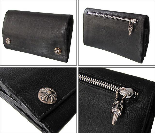 品番:cr0212クロムハーツ 財布 ロングウォレット 長財布 クロス