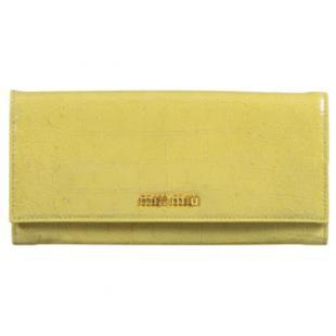 ミュウミュウ コピー財布 しカーフスキン二つ折り 長財布 5M1109 ST.COCCO LUX  専門店口コミ