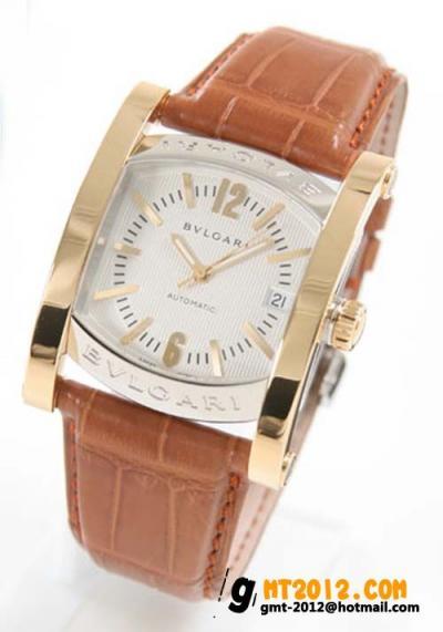 ブルガリ スーパーコピー時計商品代引き アショーマ メンズAA44C6SGLD